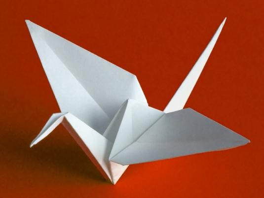 Resultado de imagen de grulla origami